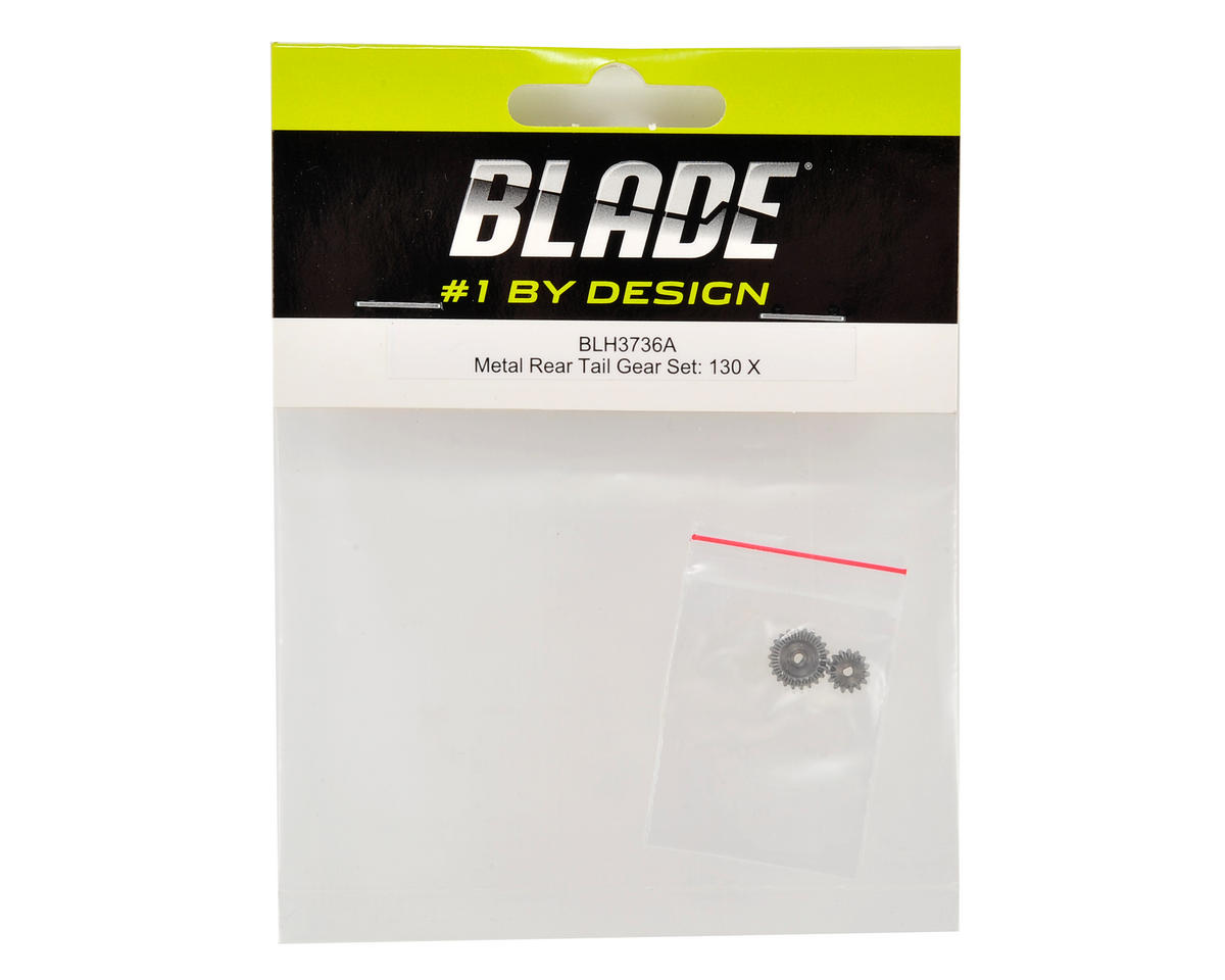 Blade Helis 130 X Metal Rear Tail Gear Set