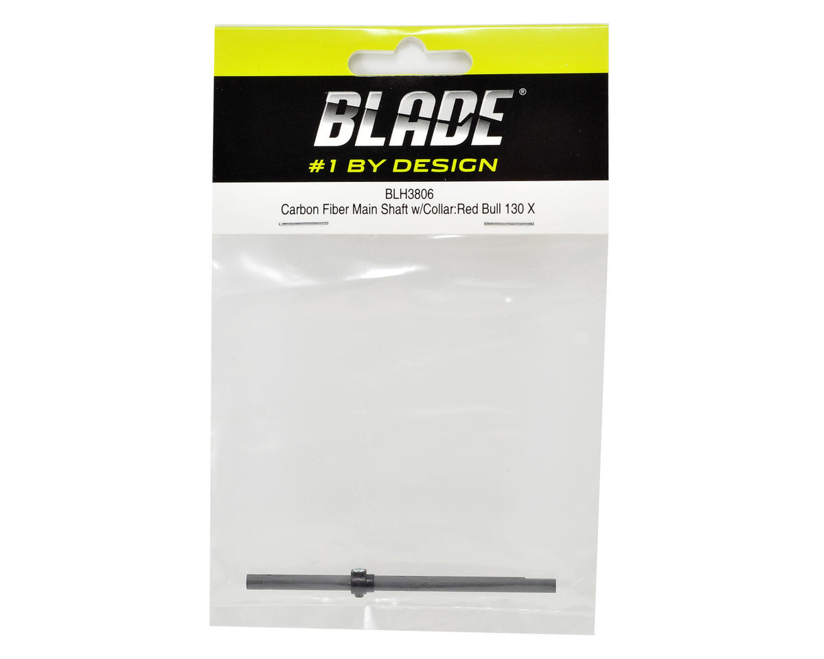 Blade Helis Carbon Fiber Main Shaft w/Collar