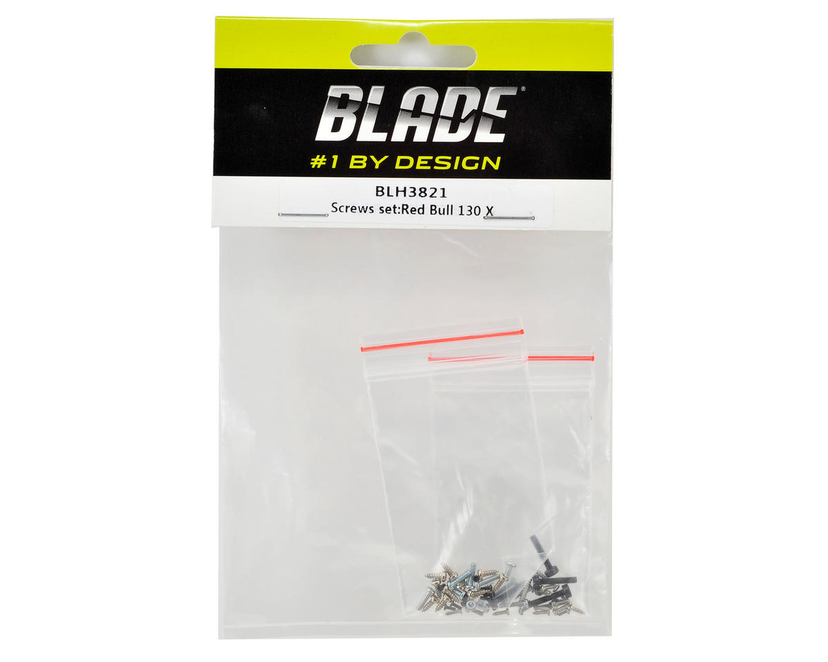 Blade Helis Red Bull 130X Screw Set
