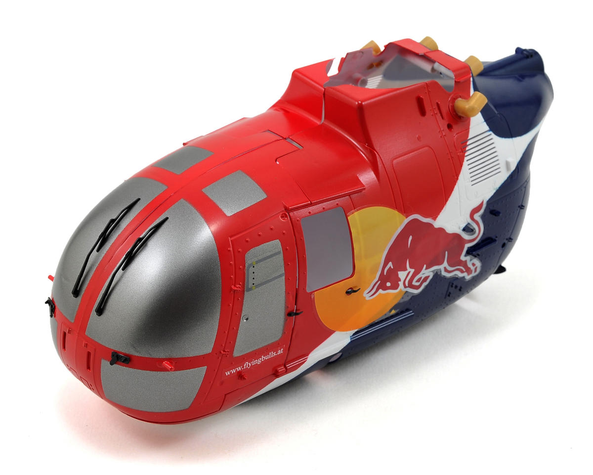 Blade Helis Red Bull BO-105 130 X Front Fuselage
