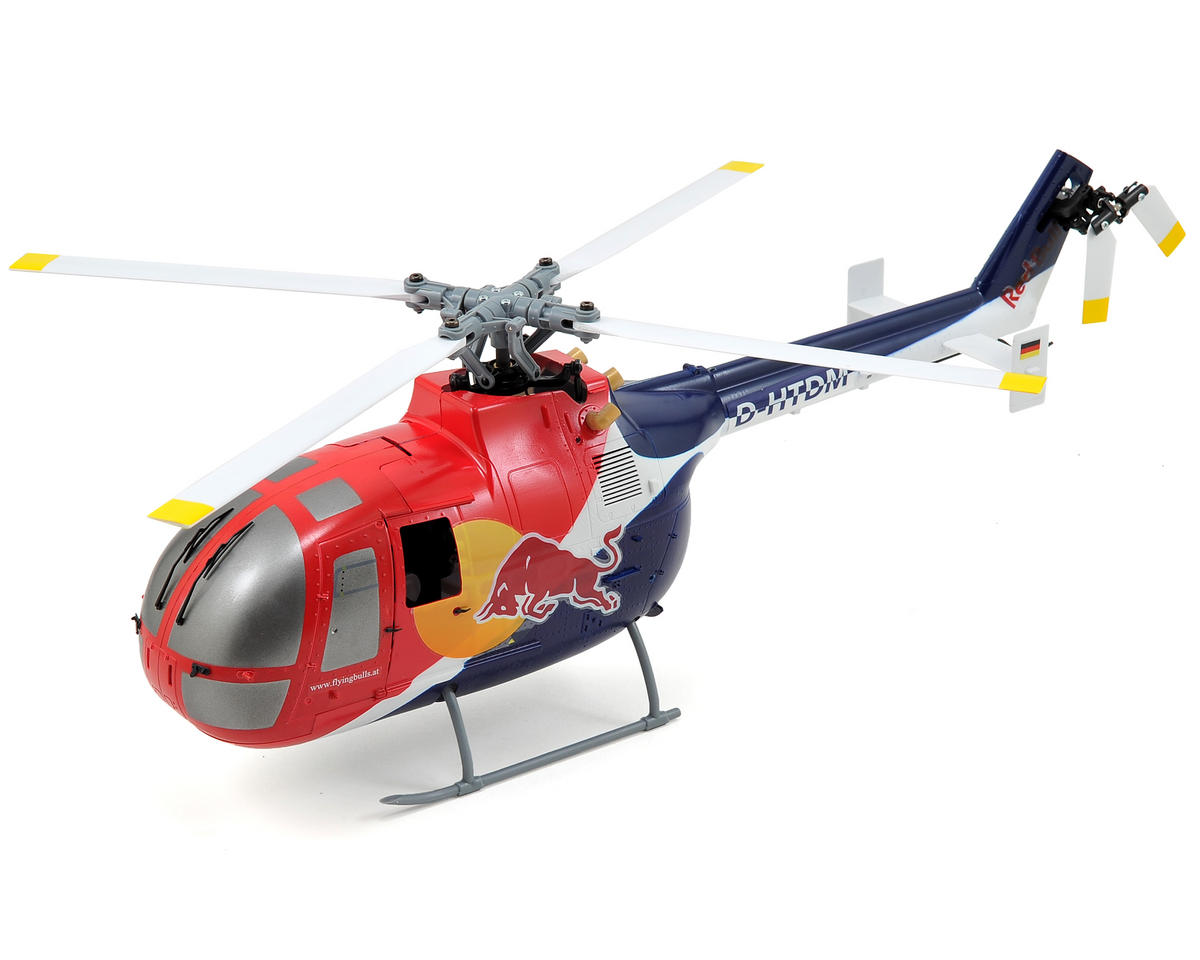 Blade Helis Red Bull BO-105 CB 130X Bind-N-Fly Electric Helicopter