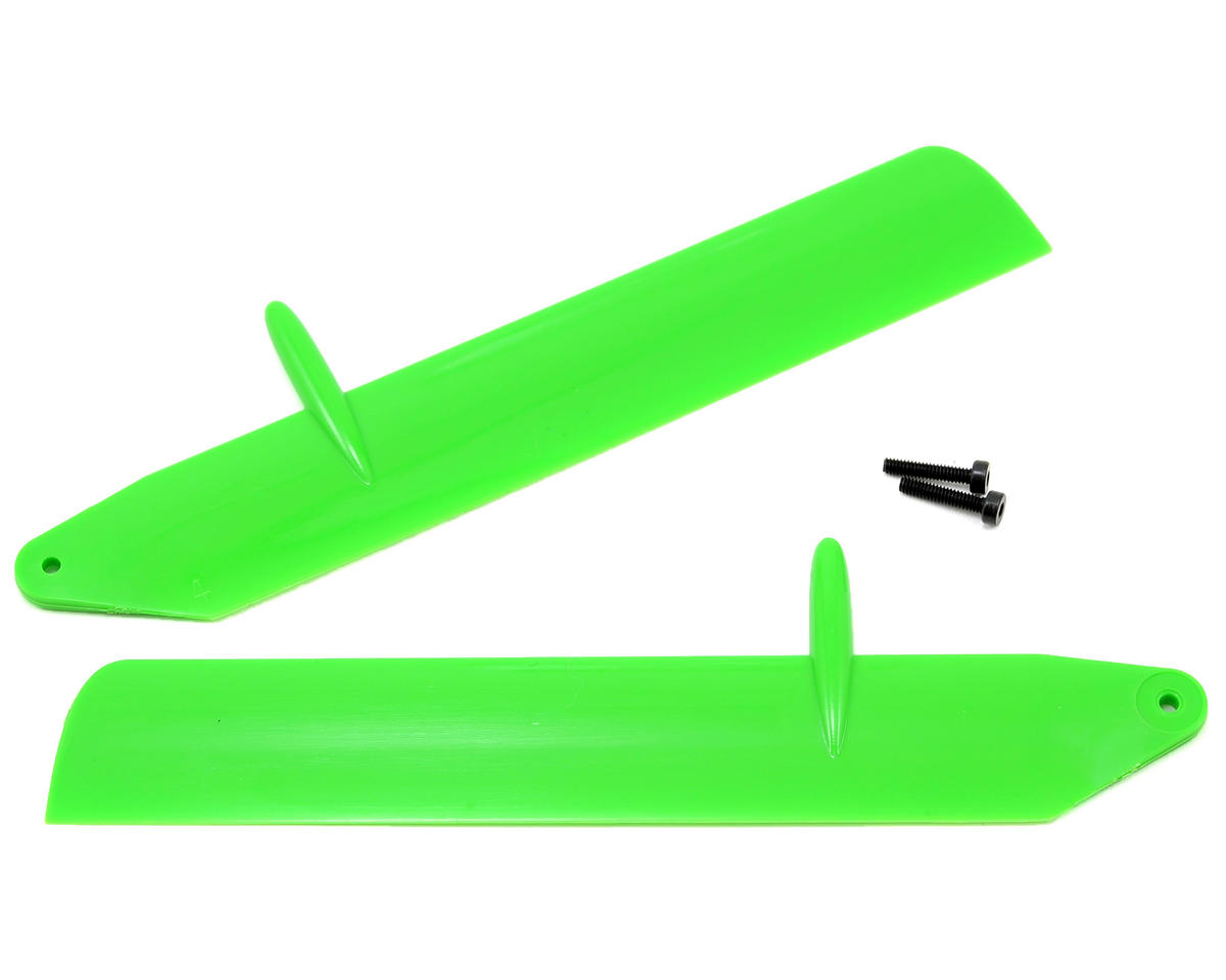 Blade Fast Flight Main Rotor Blade Set (Green) (mCP X BL)