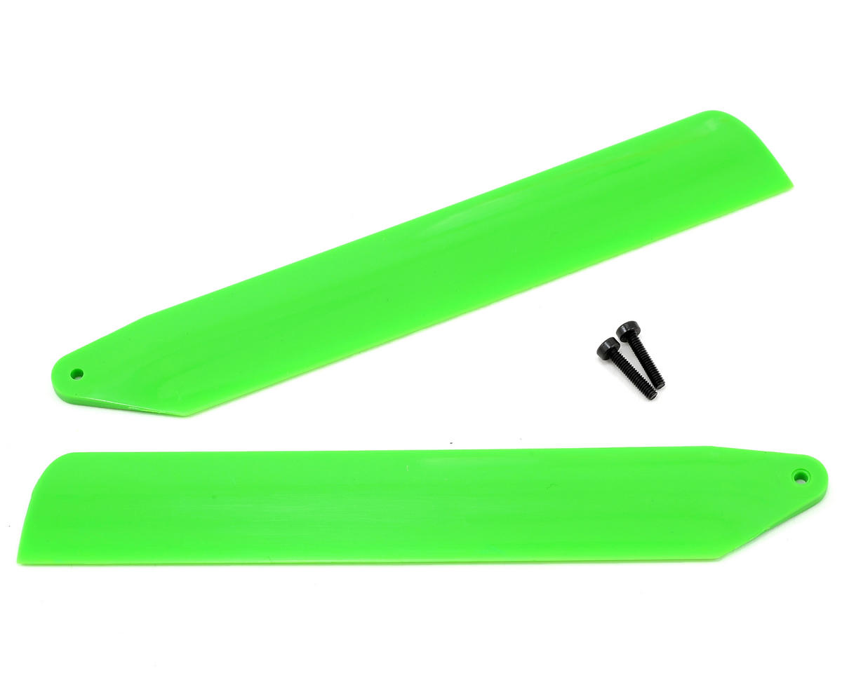 Hi-Performance Main Blade Set (Green) (mCP X BL) by Blade Helis
