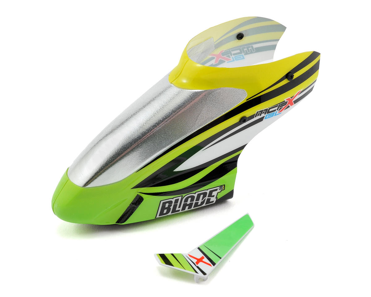 Blade Helis Canopy (Green) (mCP X BL)