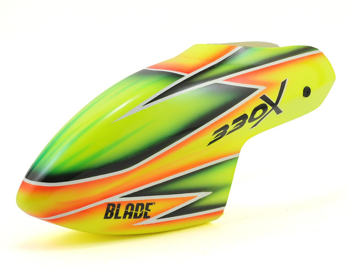 330X Fiberglass Canopy (Yellow/Green) by Blade