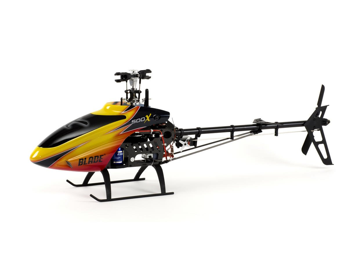 Blade Helis 500 X BNF Electric Flybarless Helicopter