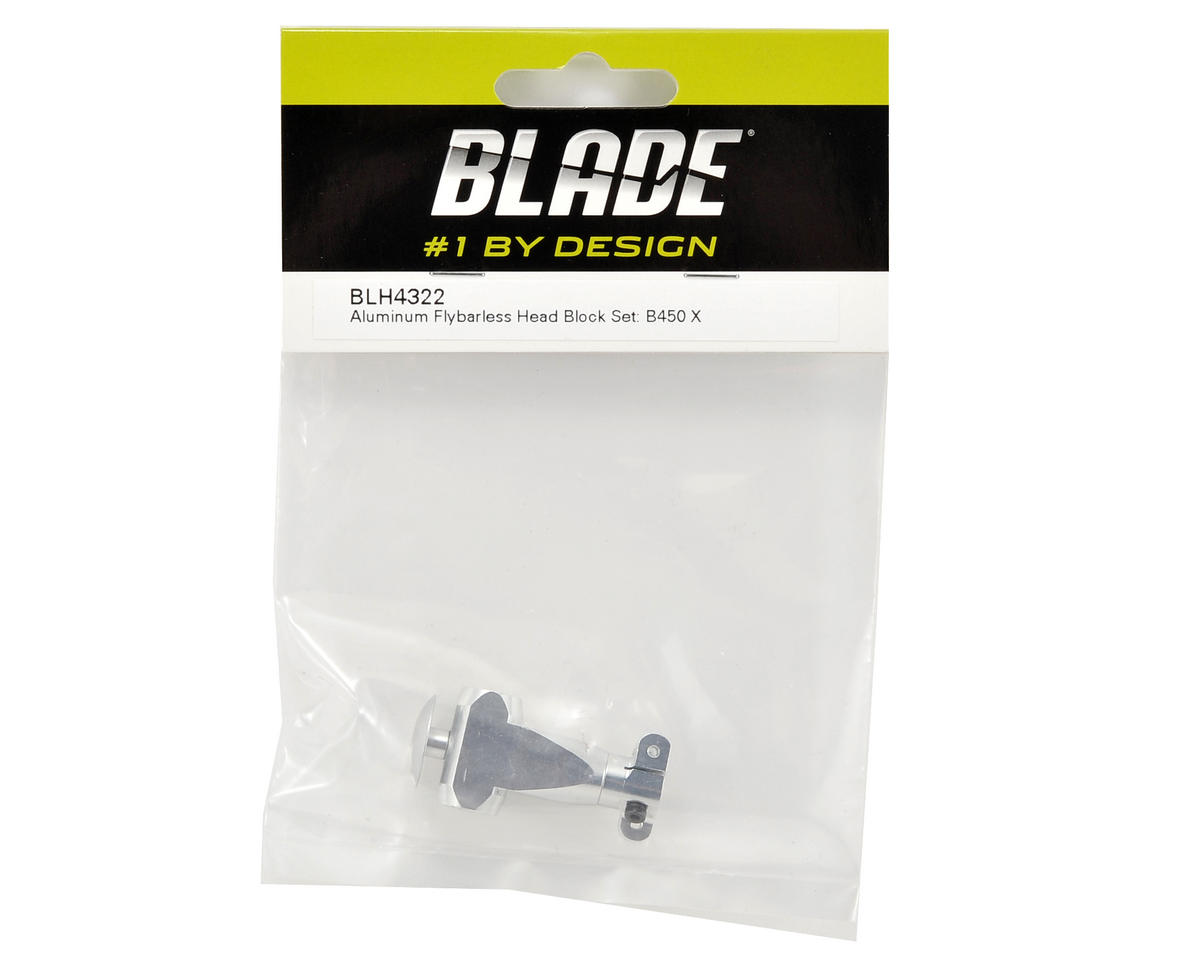 Blade Aluminum Flybarless Head Block Set (B450 X)