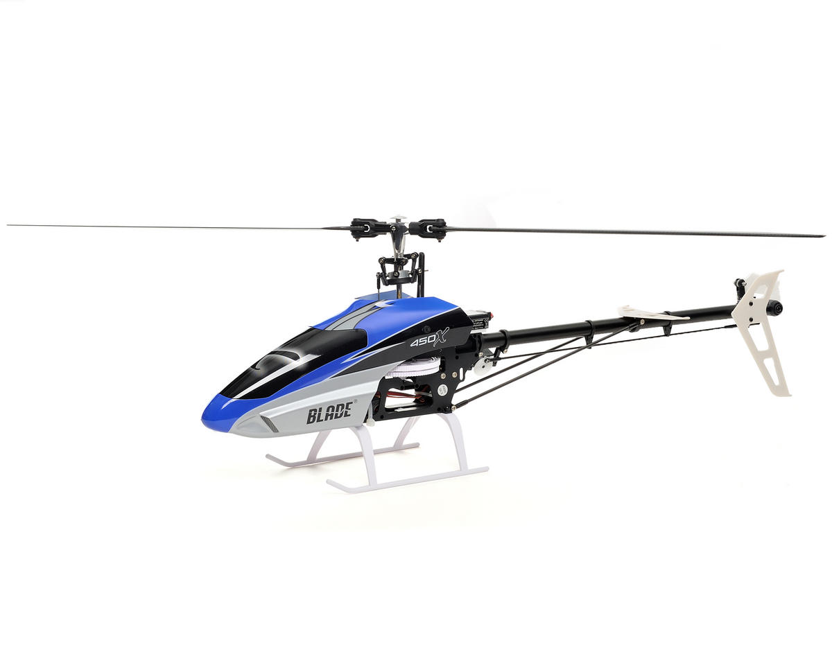 Blade Helis 450 X Bind-N-Fly Flybarless Electric Collective Pitch Helicopter w/BeastX