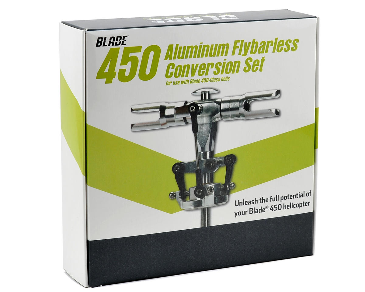 Blade Helis Aluminum 450 Flybarless Conversion Set