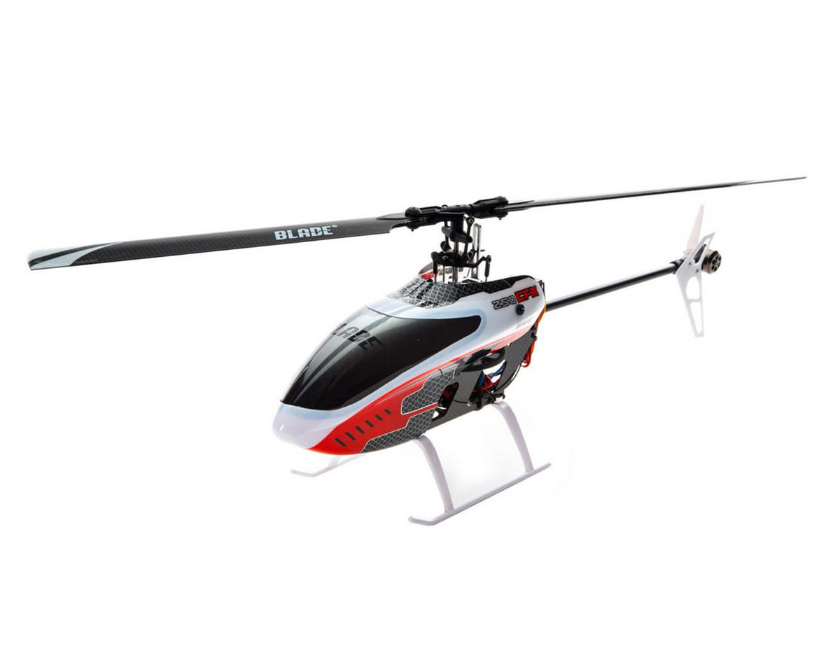 Blade Helis 250 CFX BNF Basic Electric Flybarless Helicopter w/SAFE