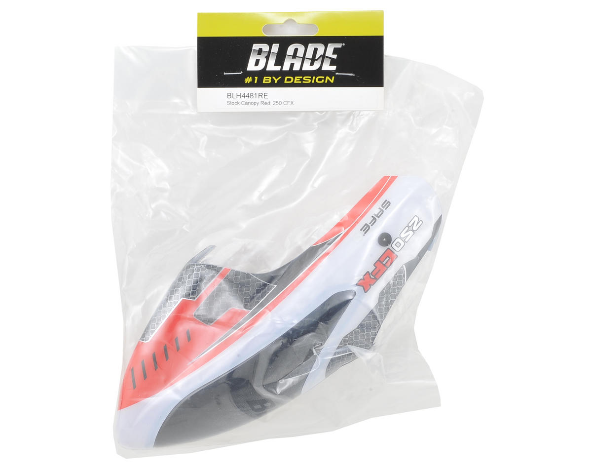 Blade 250 CFX Stock Canopy (Red)