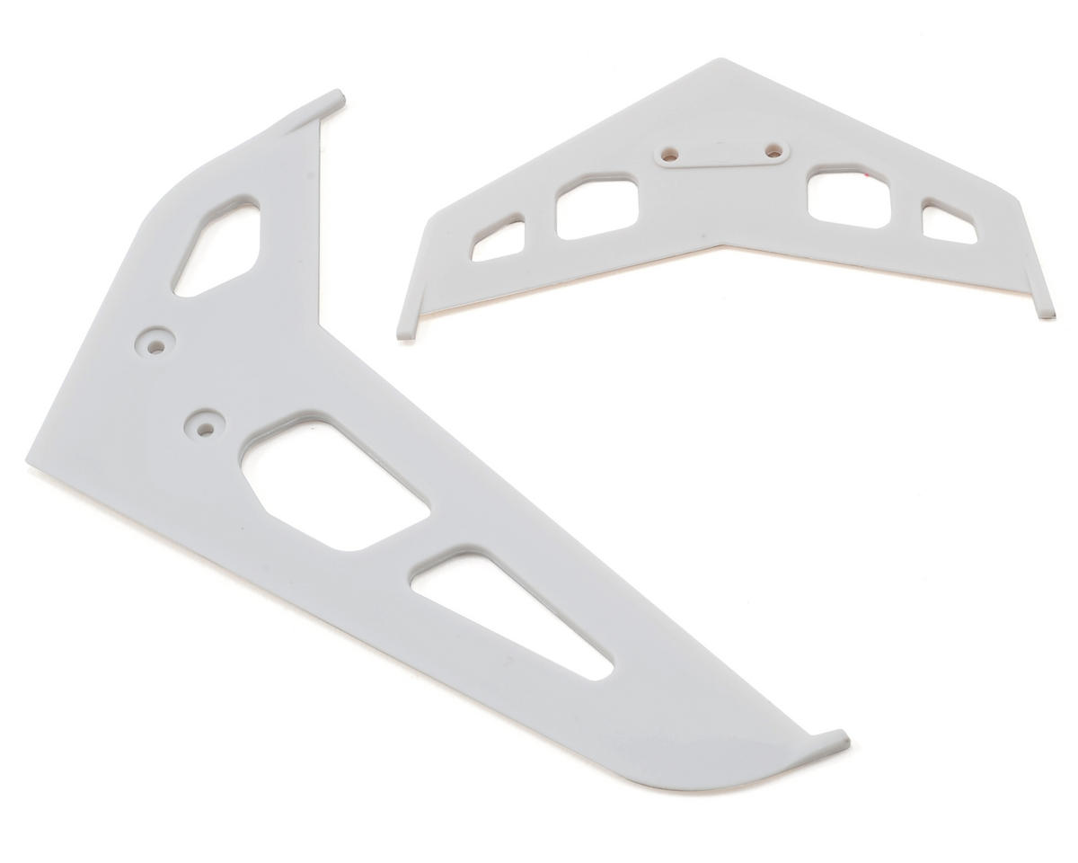 Stabilizer & Fin Set (White) by Blade Helis