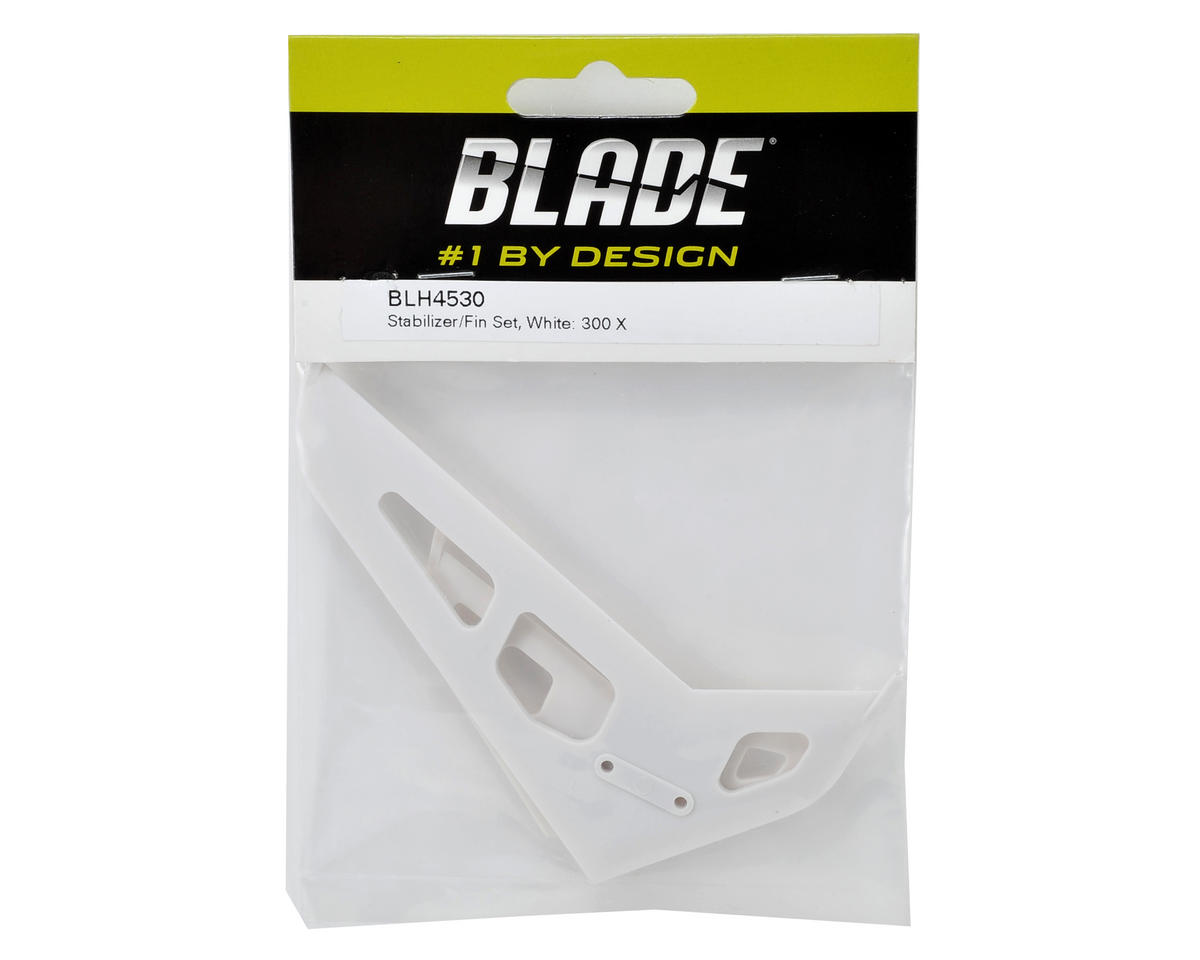 Blade Stabilizer & Fin Set (White)