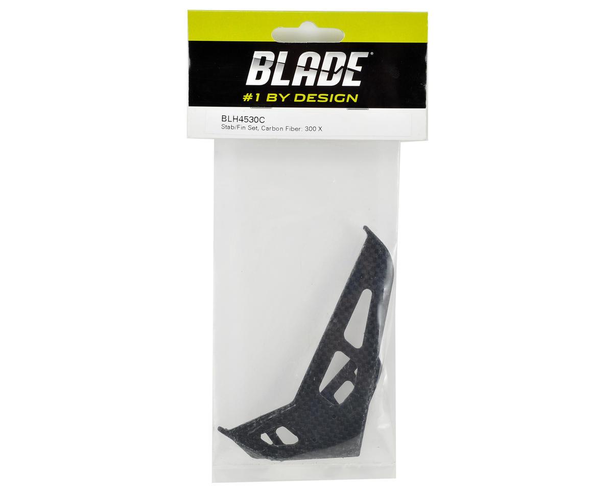 Blade Carbon Fiber Stabilizer & Fin Set