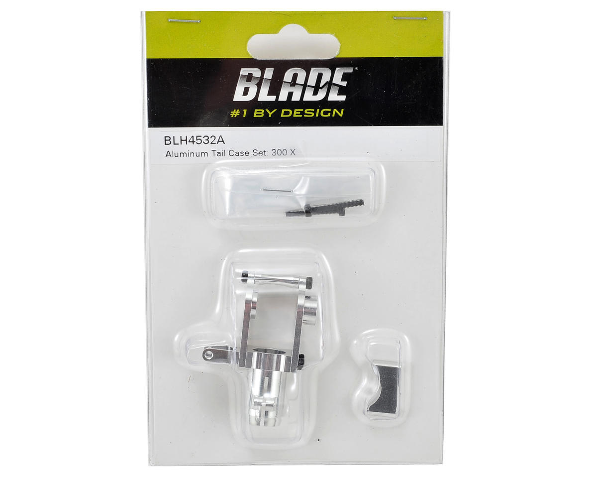 Blade Helis Aluminum Tail Case Set