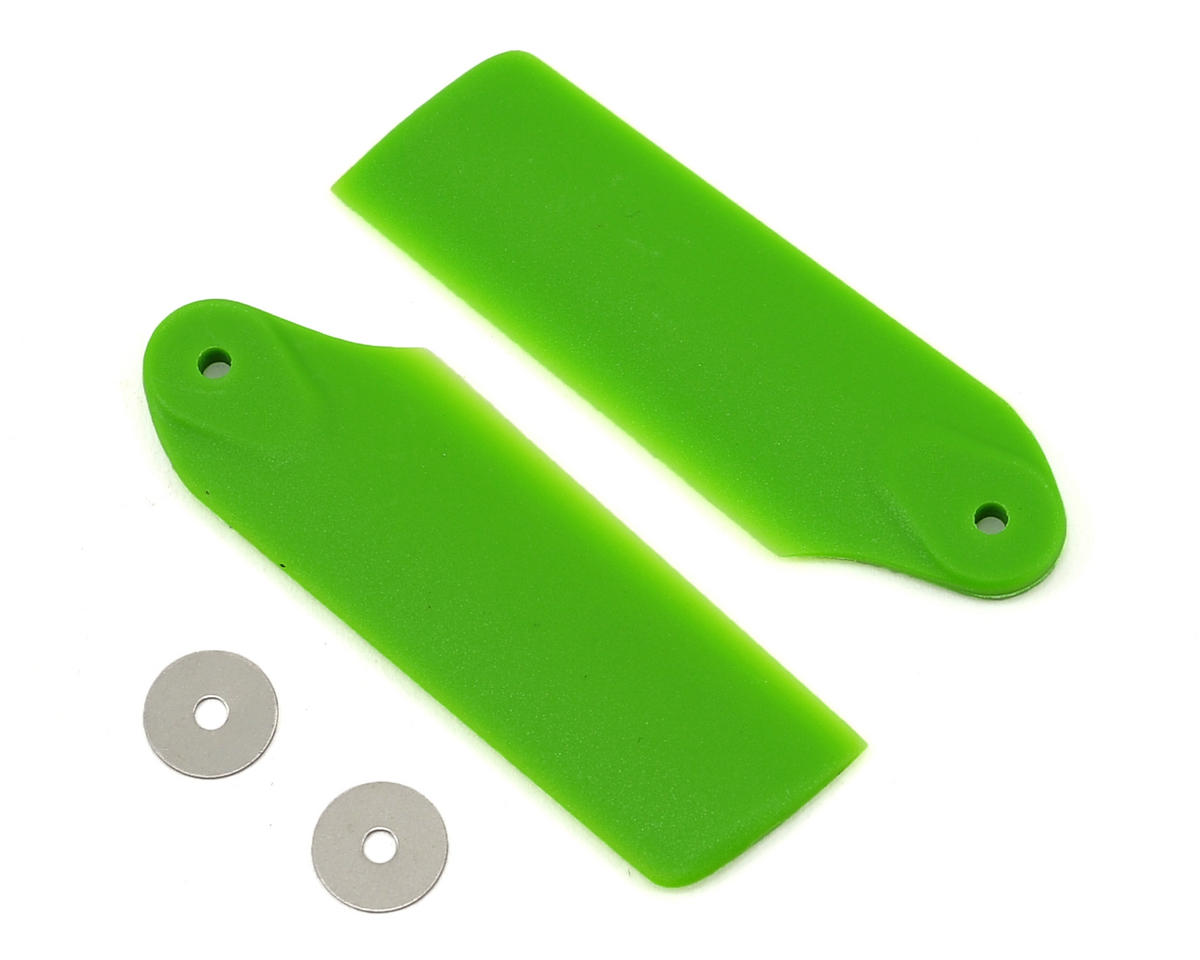 300 X Tail Rotor Blade Set (Green) by Blade