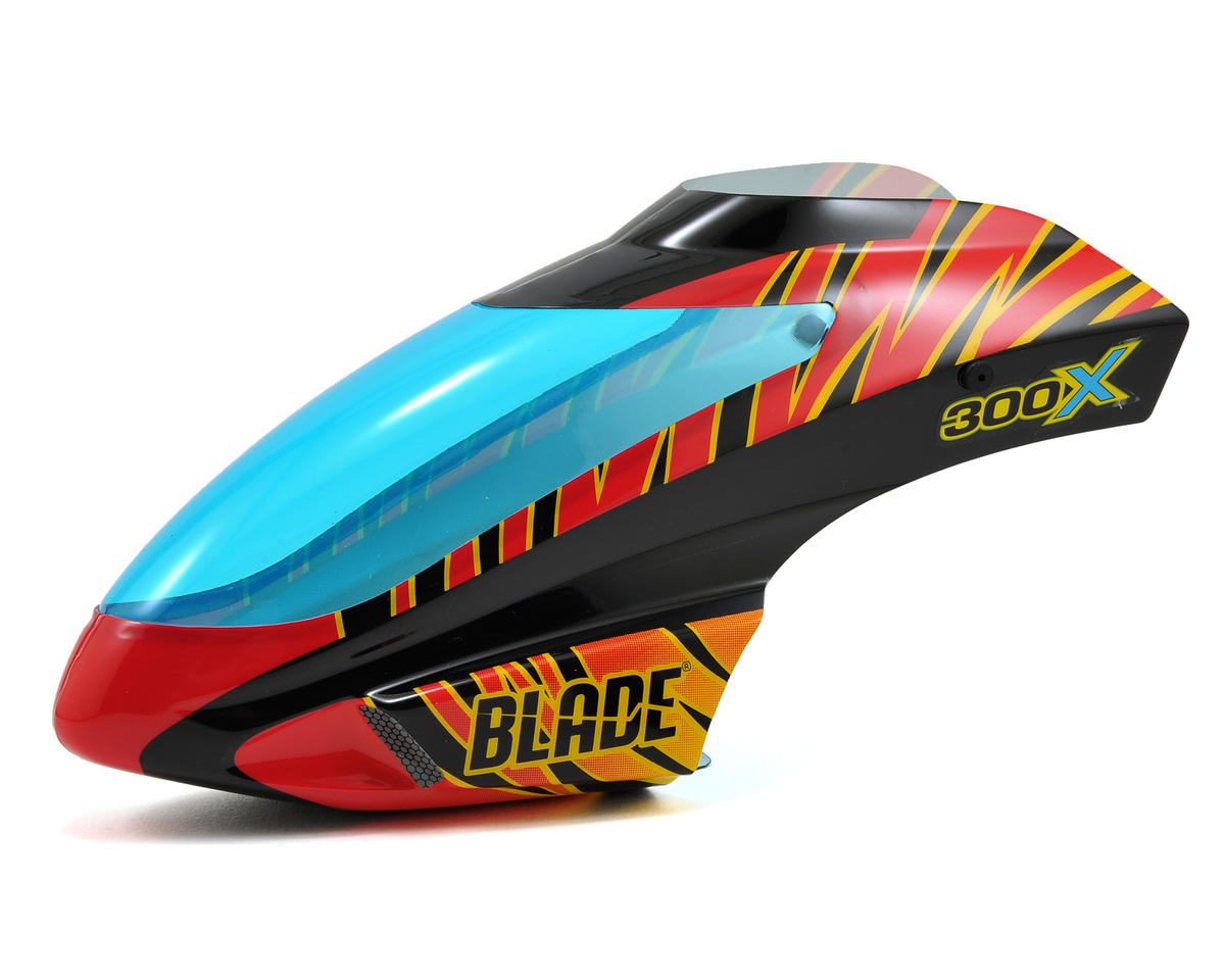 Blade 300 X Helis Canopy (Red/Black)