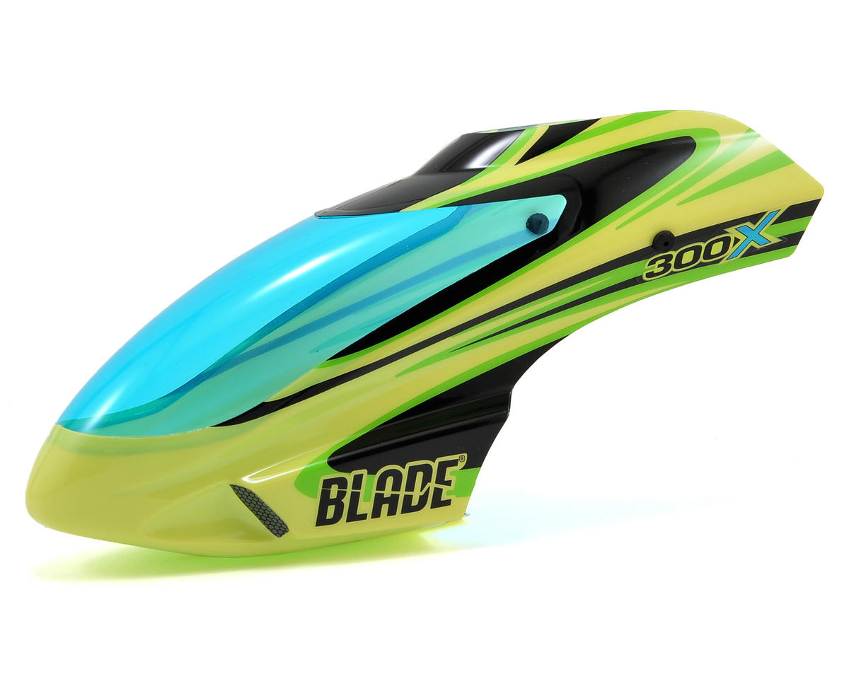 Blade Helis 300 X Option Canopy (Yellow/Green)