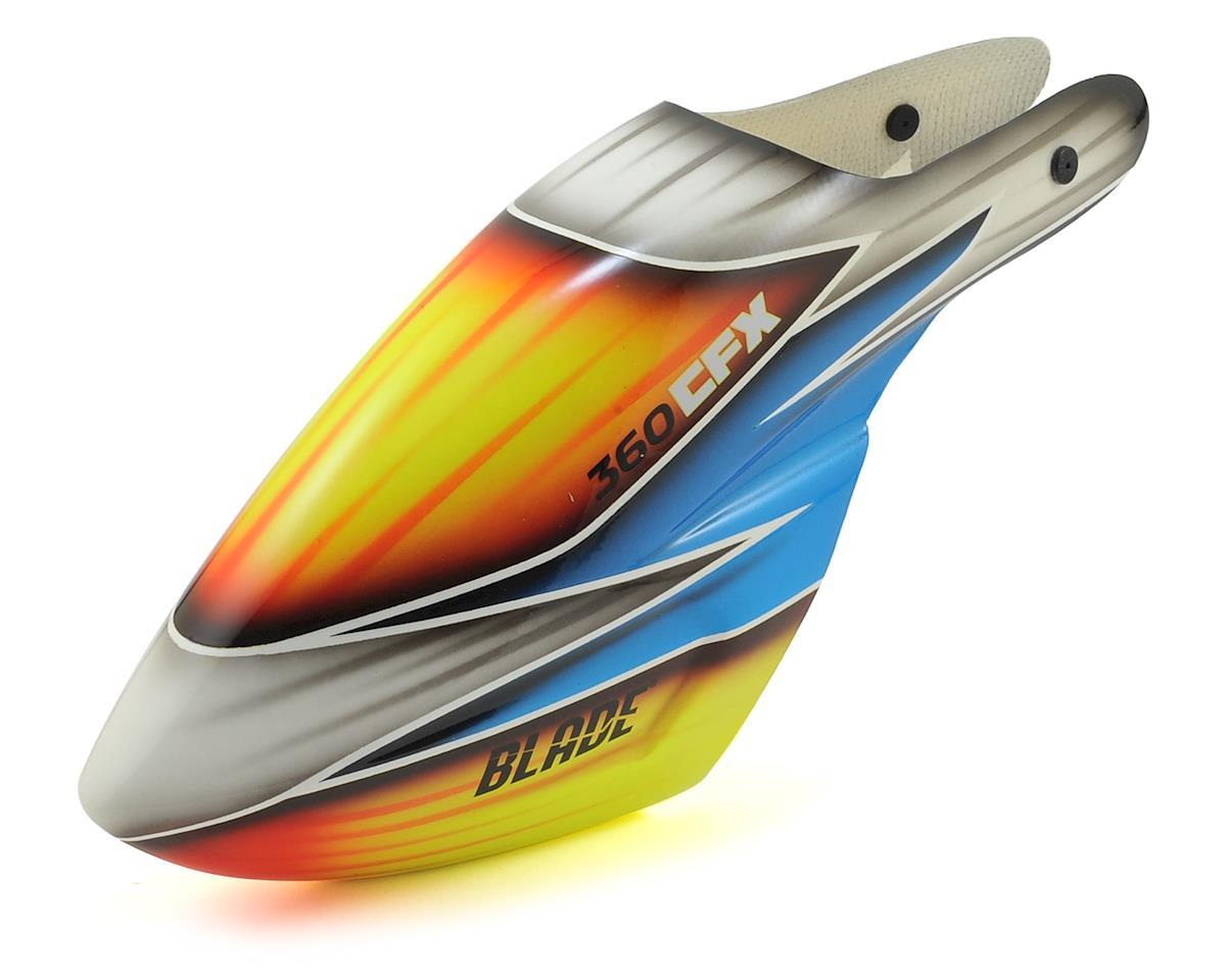 Blade Trio 360 CFX Helis Fiberglass Canopy