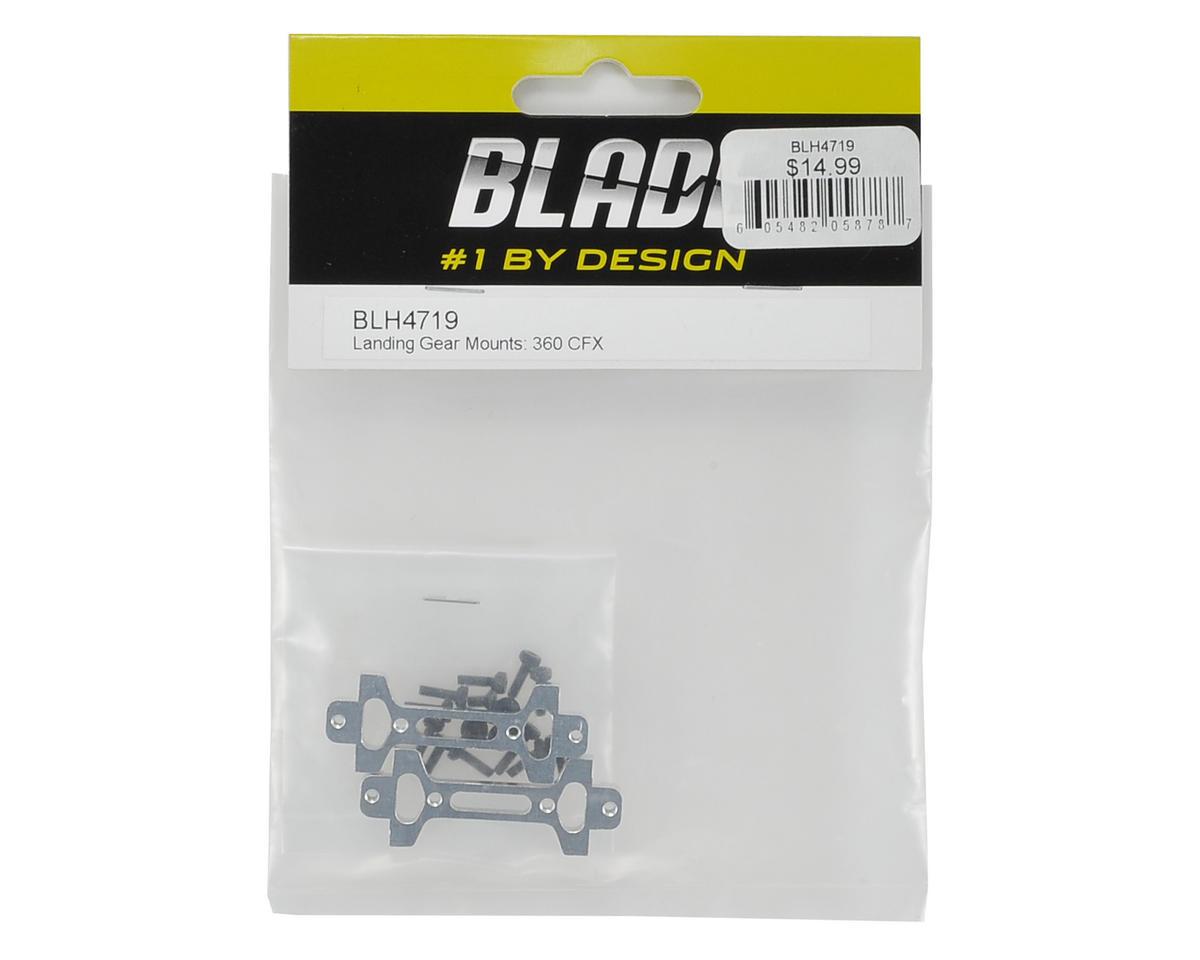 Blade Helis Aluminum Landing Gear Mount (2)