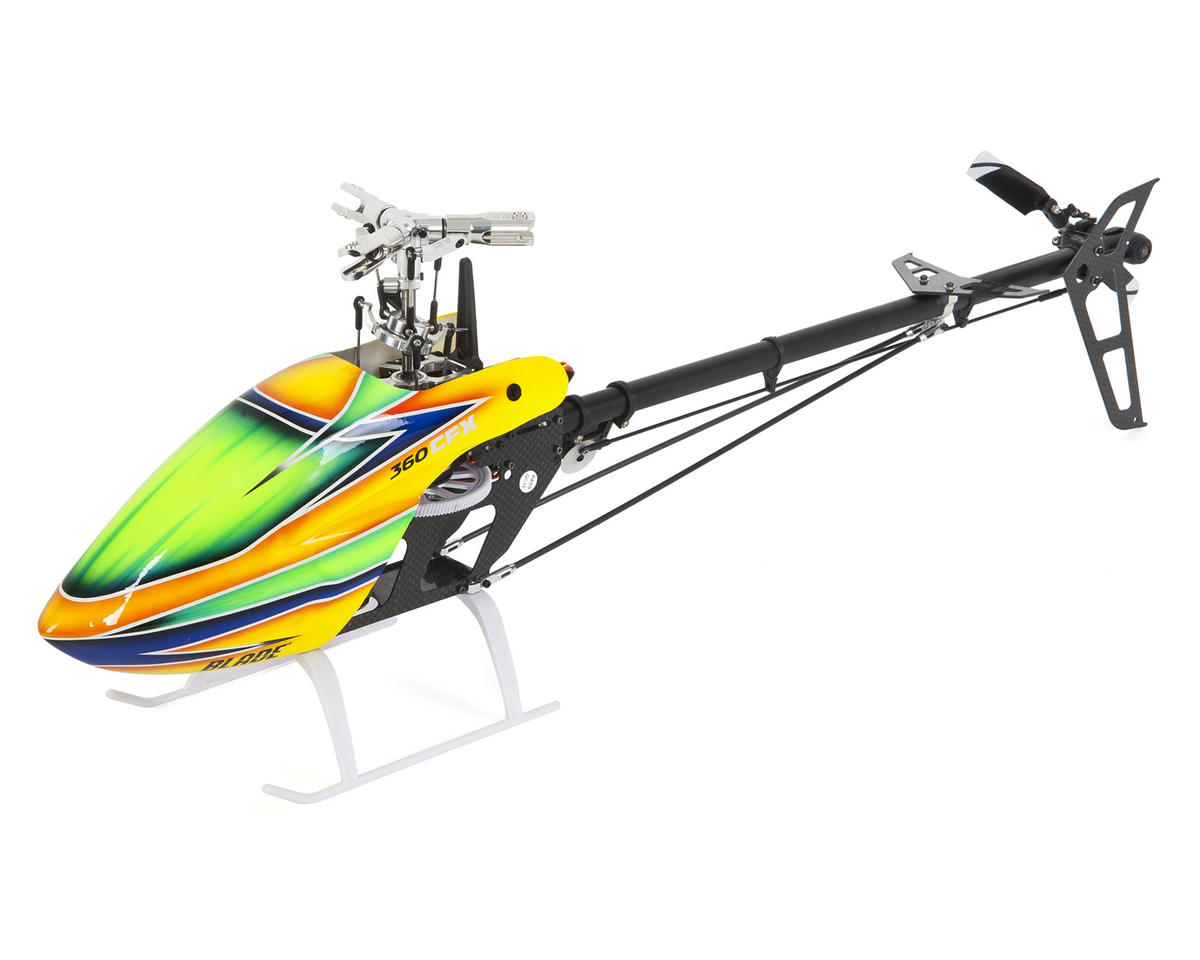 Trio 360 CFX BNF Basic Electric Flybarless Helicopter by Blade Helis