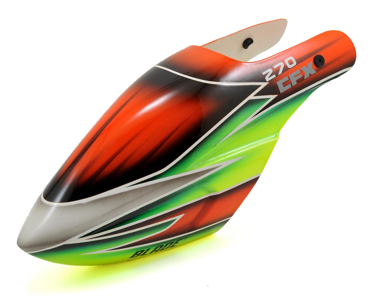 270 CFX Canopy (Orange/Green/Yellow) by Blade Helis