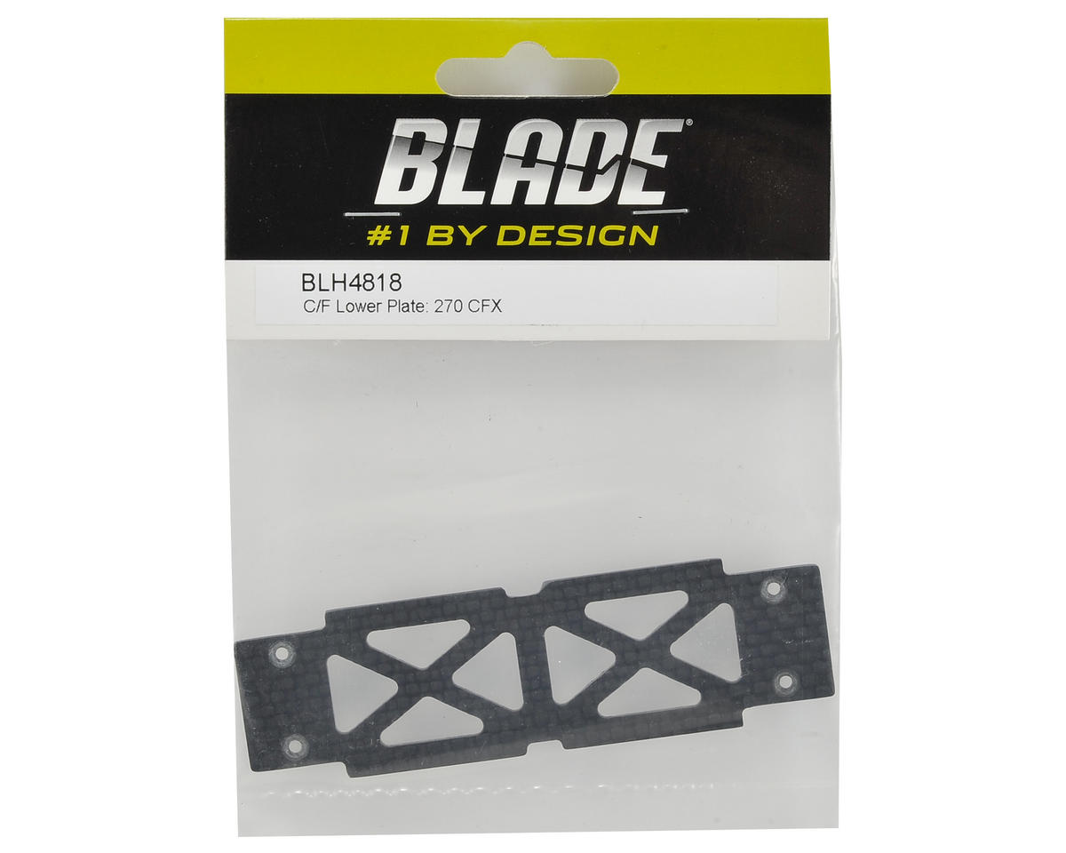 Blade Helis Carbon Fiber Lower Plate