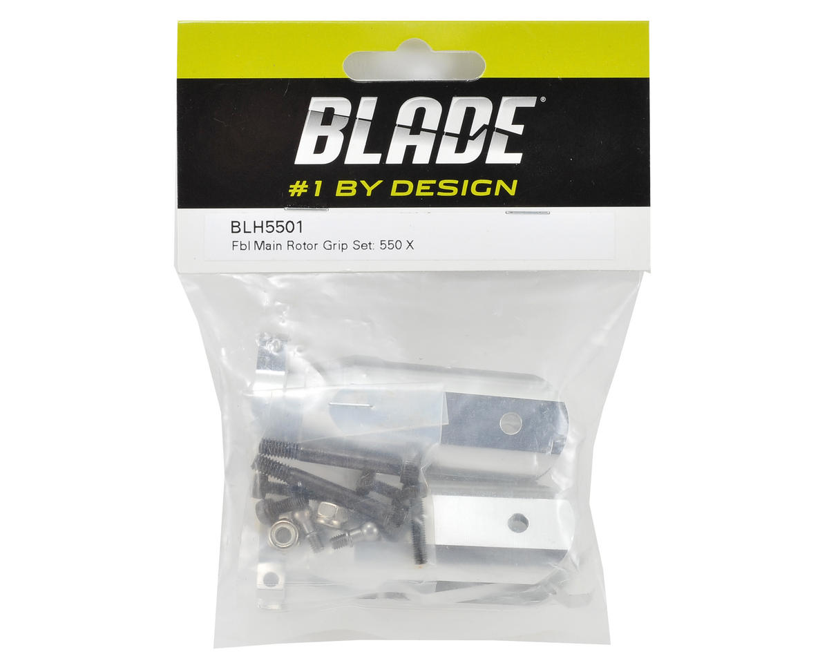 Flybarless Main Rotor Grip Set by Blade