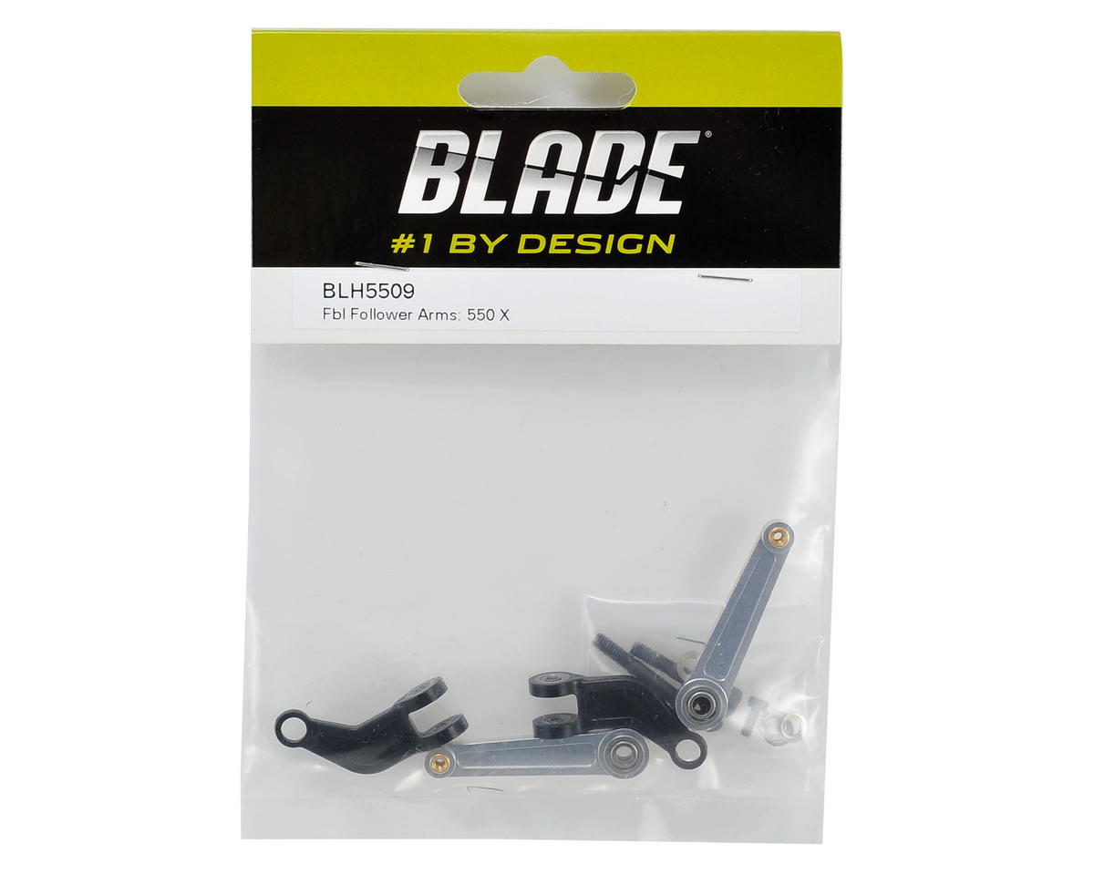 Flybarless Follow Arm Set by Blade