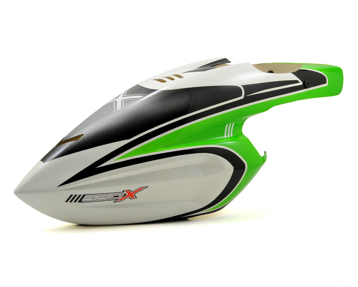 Blade Helis 550 X Pro Canopy (Green)