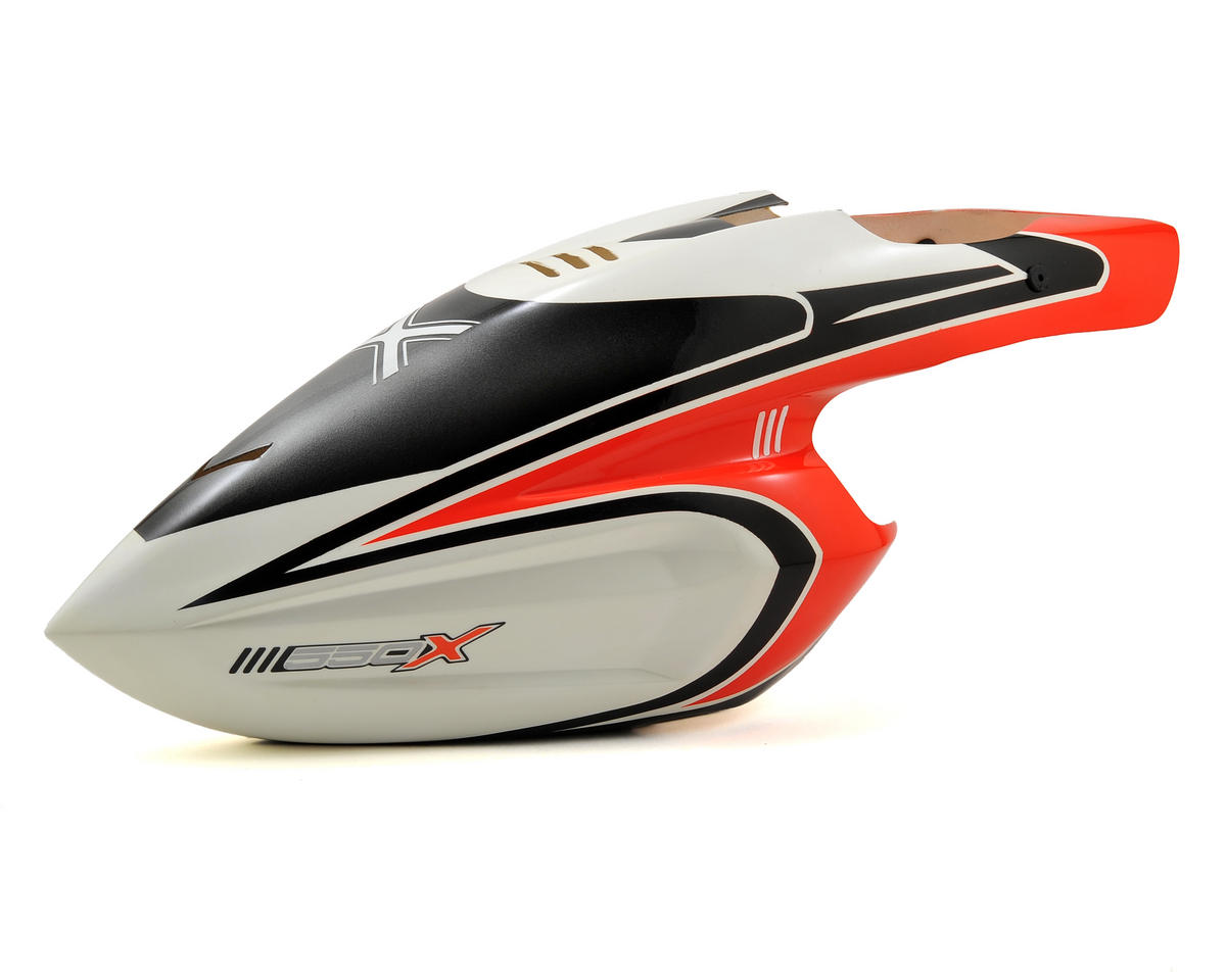 Blade Helis 550 X Pro Canopy (Red)