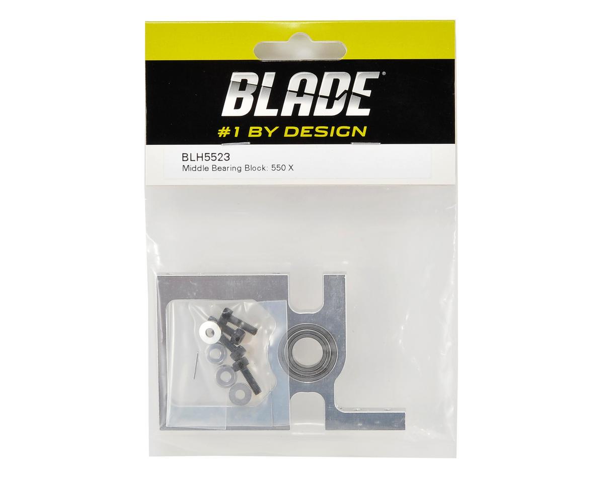Blade Helis Aluminum Middle Bearing Block
