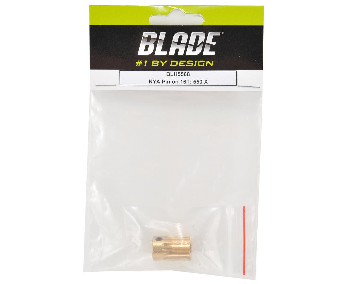 Blade Helis Pinion Gear (16T) (550 X Pro)