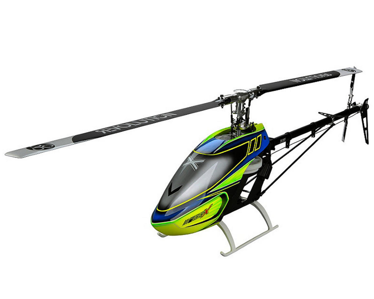 Blade Helis 700 X Pro Series Flybarless Helicopter Combo w/AR7200BX, Servos, 120HV, Motor & Blad
