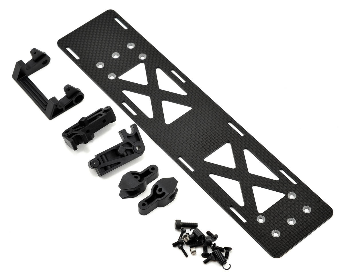 Blade Helis Carbon Fiber Battery Tray Set