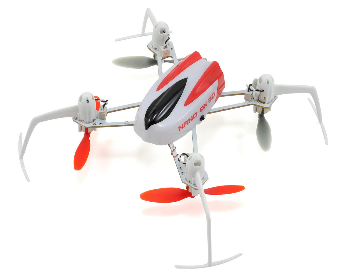 Blade Helis Nano QX 3D BNF Micro Electric Quadcopter Drone
