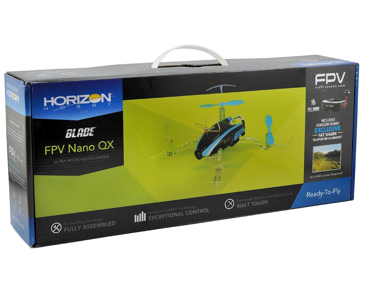 Blade Helis Nano QX FPV RTF Micro Electric Quadcopter Drone