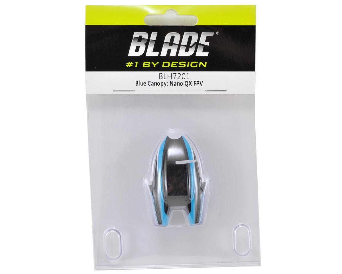 Blade Helis Nano QX FPV Canopy (Blue)