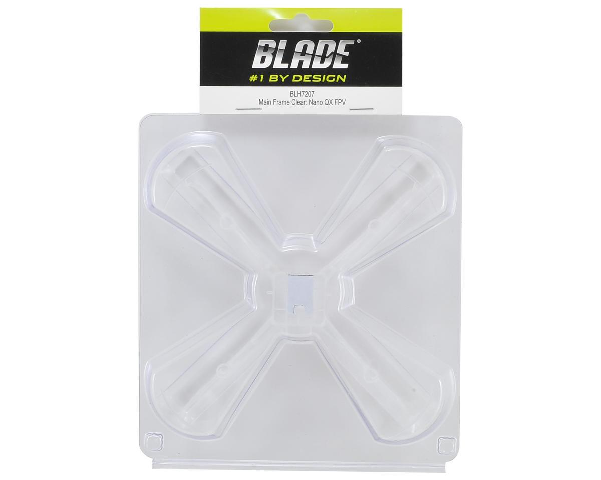 Blade Helis Nano QX FPV Main Frame (Clear)