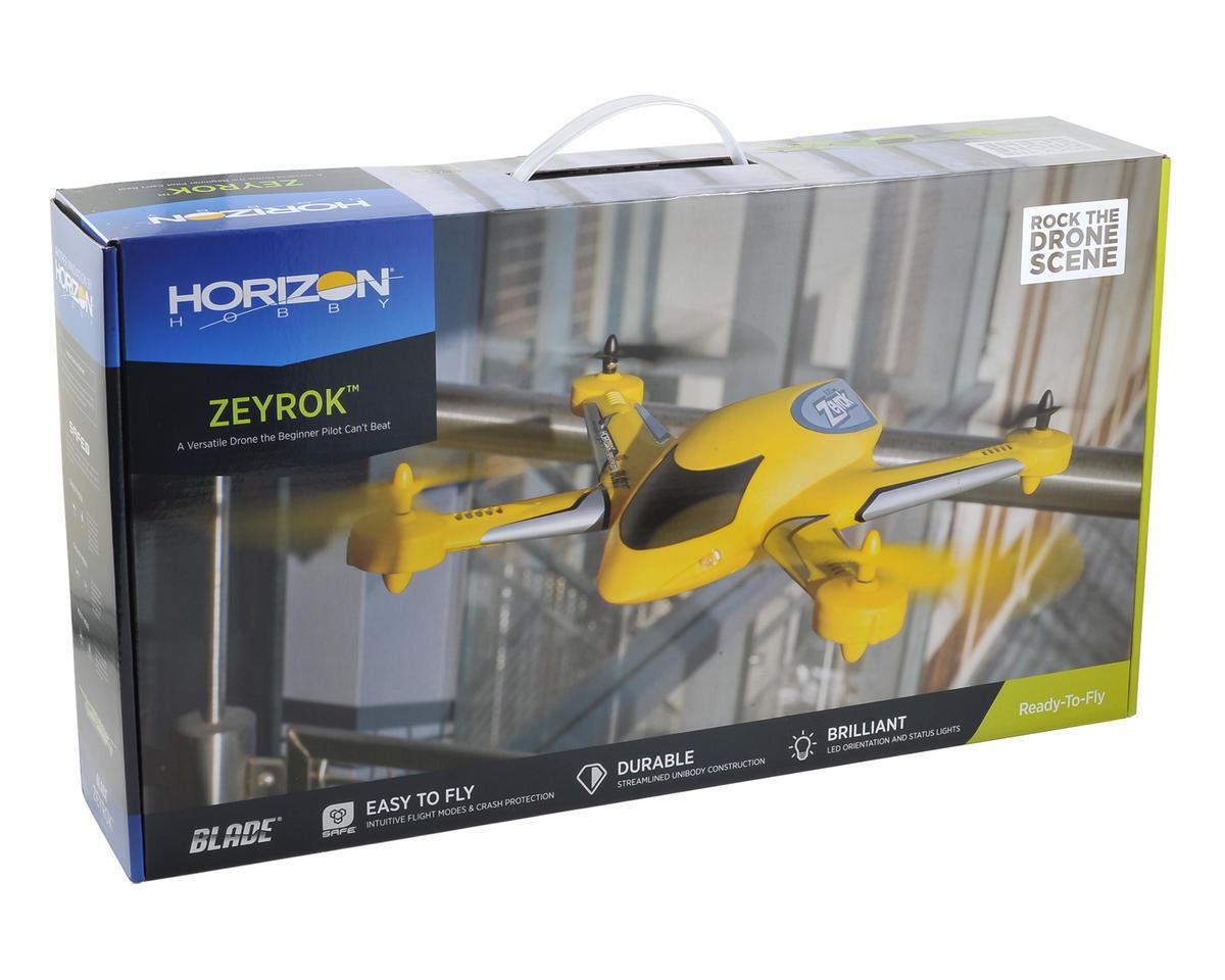 Blade Zeyrok RTF Micro Electric Quadcopter Drone (Yellow)