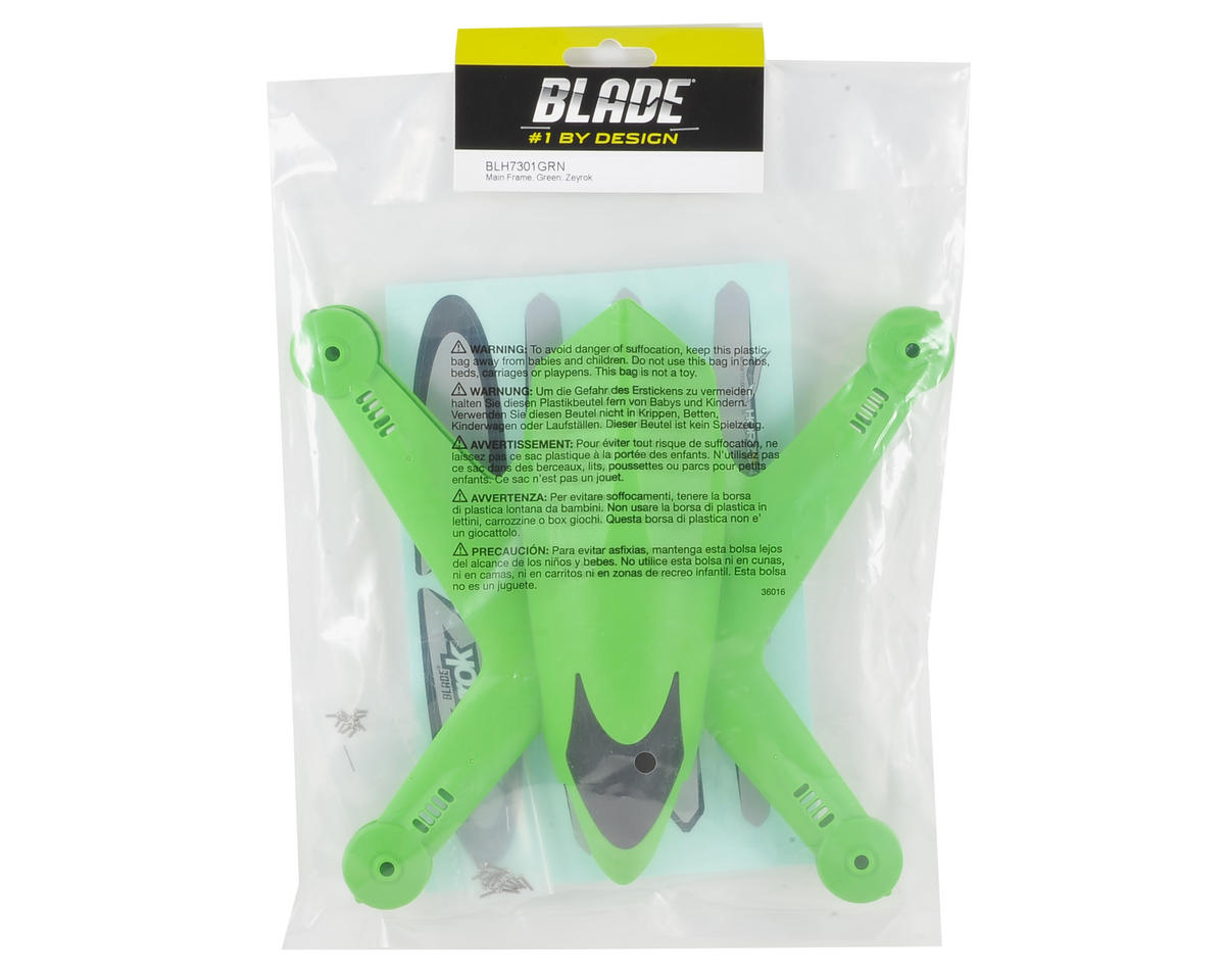 Blade Helis Zeyrok Main Frame (Green)