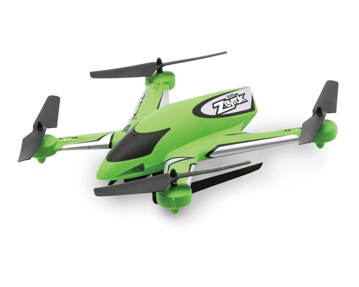 Blade Zeyrok BNF Micro Electric Quadcopter Drone (Green)