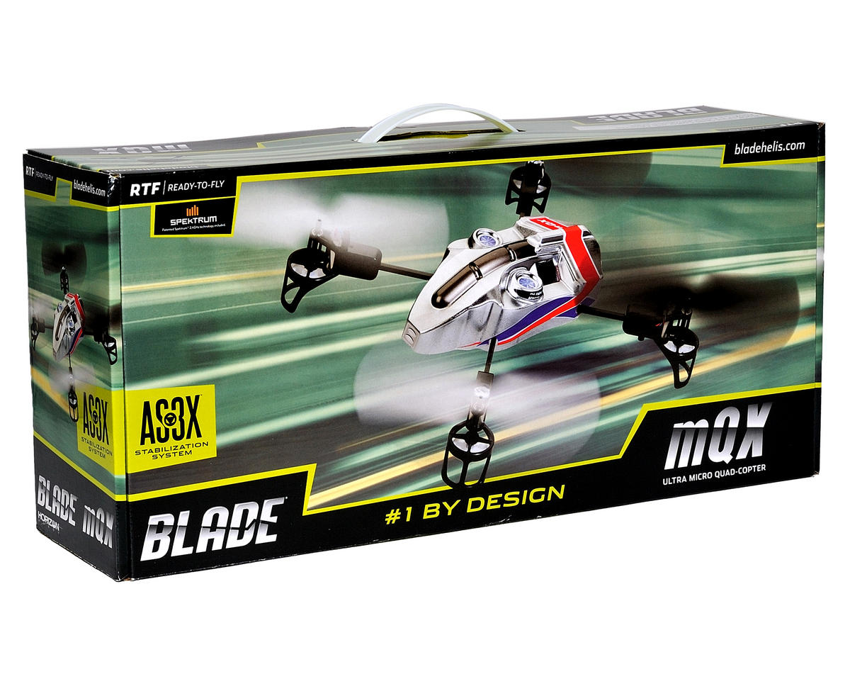 Blade Helis mQX RTF Ultra Micro Electric Quad-Copter