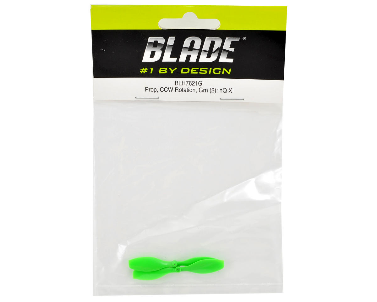 Blade Helis Counter-Clockwise Rotation Prop (Green) (2)
