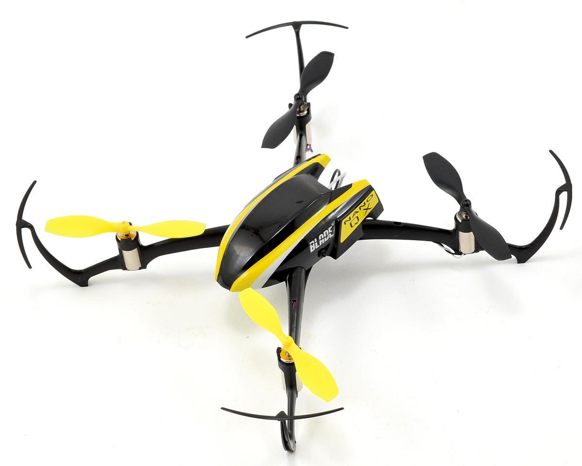 Blade Helis Nano QX BNF Micro Electric Quadcopter Drone