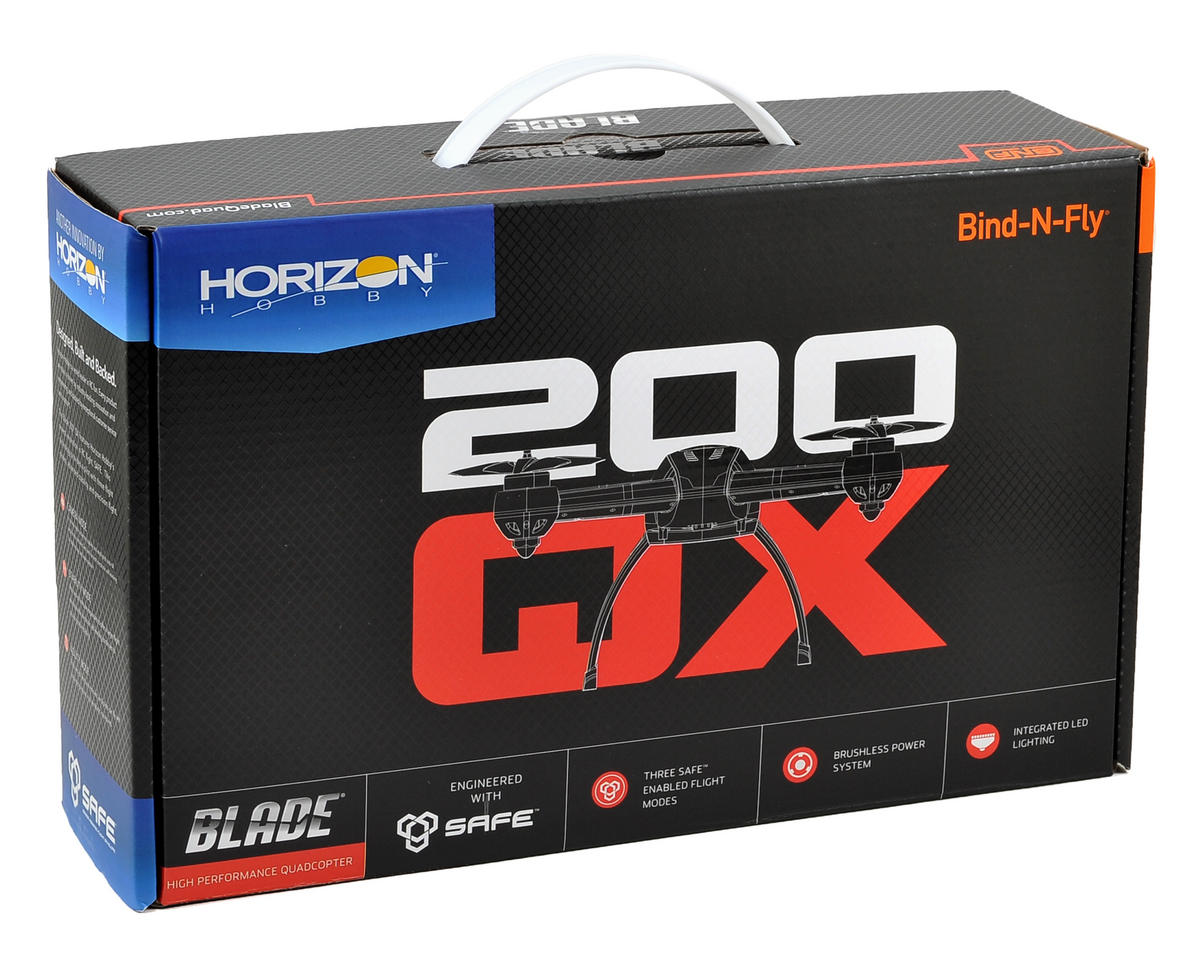 Blade Helis 200 QX BL BNF Quadcopter Drone