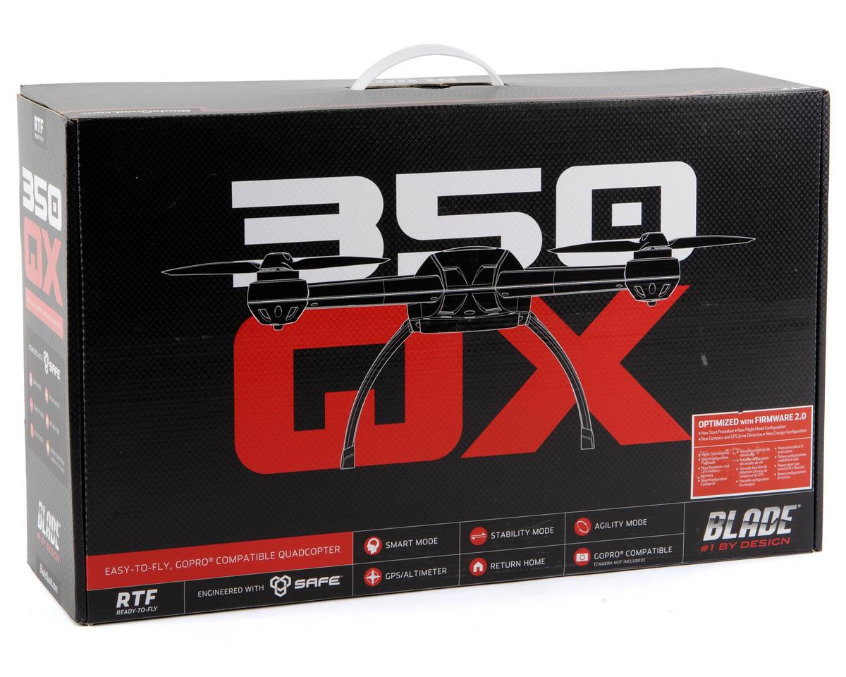 Blade Helis 350 QX RTF Quadcopter w/DX5E, LiPo, F/W 2.0, Charger & GPS
