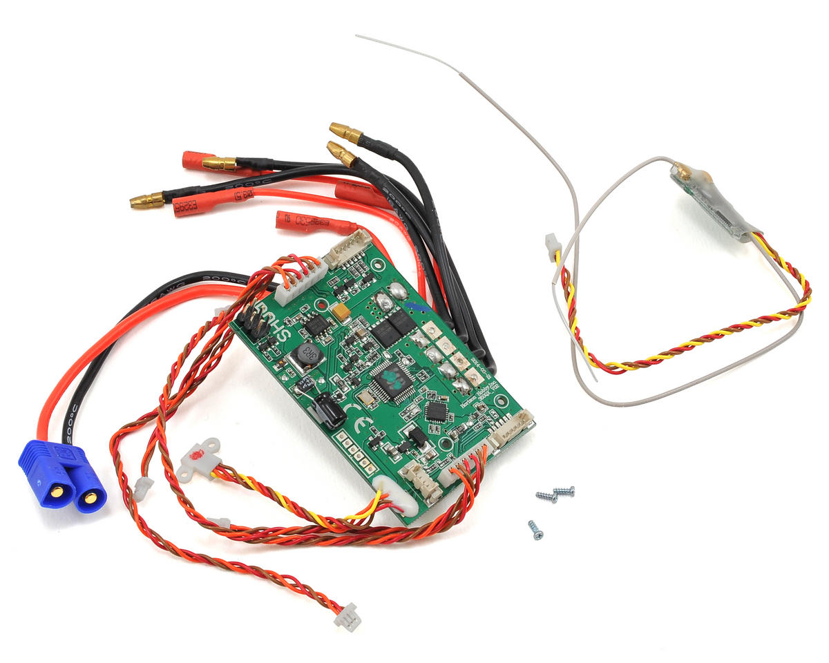 Blade Helis 350 QX/QX2/QX3 Main Control Board w/Receiver