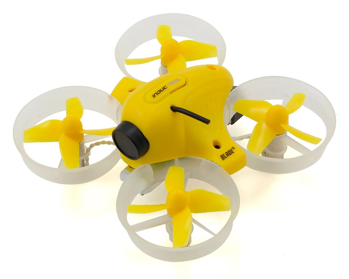 Blade Inductrix FPV BNF Ultra Micro Electric Quadcopter Drone w/SAFE