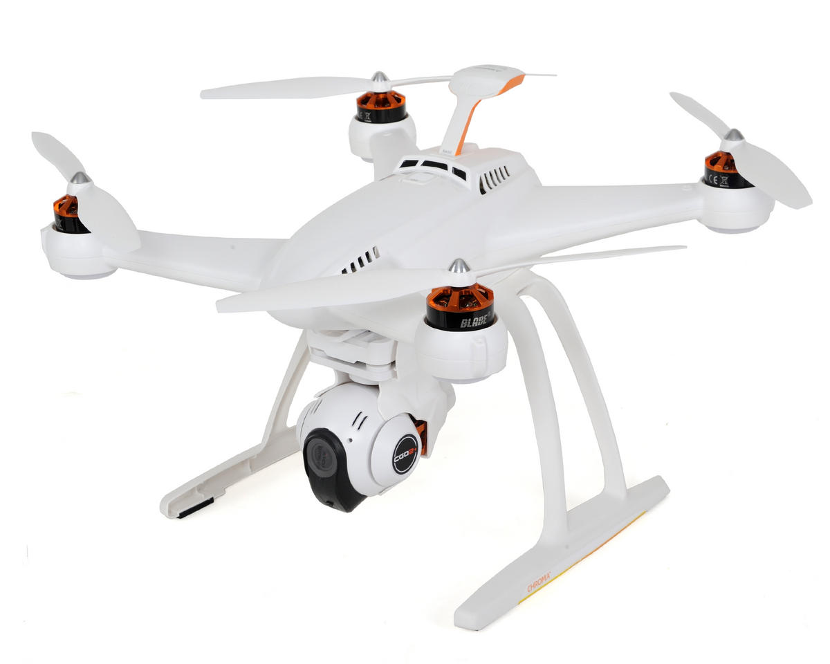Blade Helis Chroma Camera RTF Quadcopter Drone w/SAFE, ST-10+, CGO2+ Gimbal, Battery & GPS